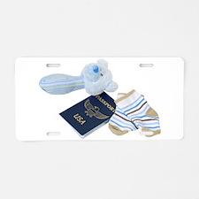 BabyTravels041410.png Aluminum License Plate