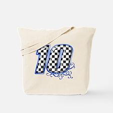 Cute Race flag Tote Bag