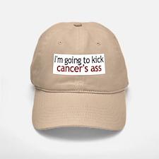 I'm going to kick cancer's ass Baseball Baseball Cap