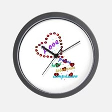 Seeds of Love Wall Clock