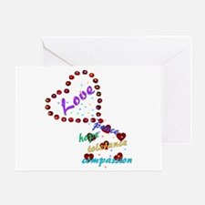 Seeds of Love Greeting Card