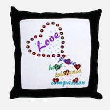 Seeds of Love Throw Pillow