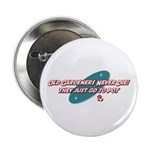 """Old Gardeners Never Die 2.25"""" Button (100 pac"""