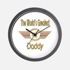Number 1 Daddy Wall Clock