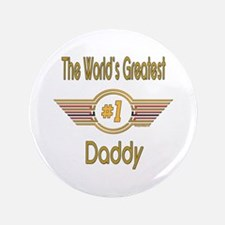 """Number 1 Daddy 3.5"""" Button (100 pack)"""