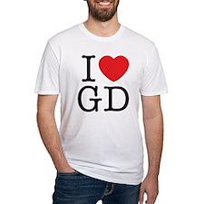 I Love Graphic Design Shirt