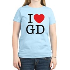 I Love Graphic Design T-Shirt