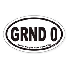 GRND 0 Euro Oval Decal
