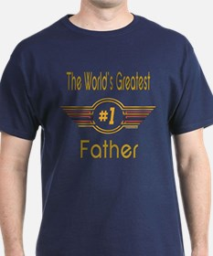 Number 1 Father T-Shirt