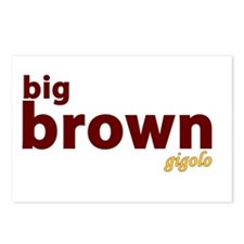Big Brown Gigolo Postcards (Package of 8)