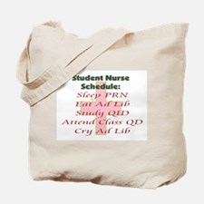 Cute Nurse student Tote Bag