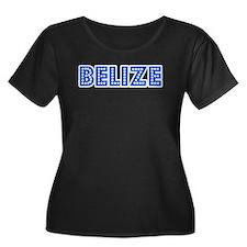 Retro Belize (Blue) T