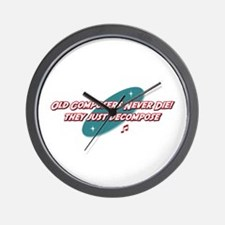 Old Composers Never Die Wall Clock