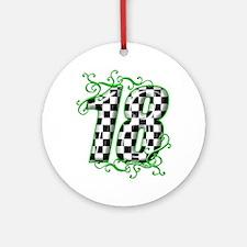RaceFashion.com Ornament (Round)
