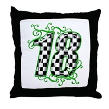 RaceFashion.com Throw Pillow