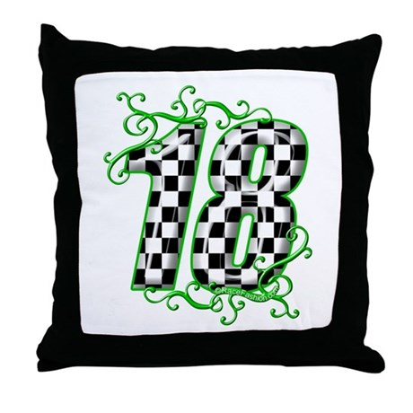 RaceFashion.com Throw Pillow
