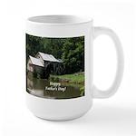 Mabry Mill Father's Day Gift Large Mug