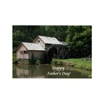 Mabry Mill Father's Day Gift Rectangle Magnet (100