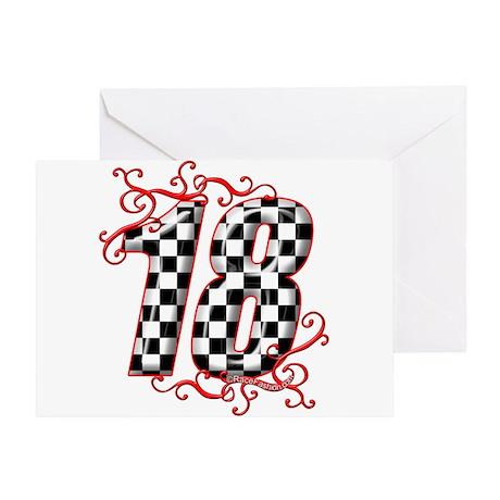 RaceFashion.com Greeting Card