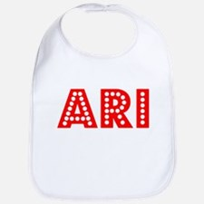 Retro Ari (Red) Bib