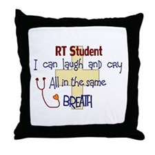 Funny Respiratory therapy Throw Pillow
