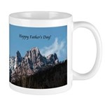 Castle Crags CA. Father's Day Gifts Mug