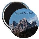 Castle Crags CA. Father's Day Gifts Magnet