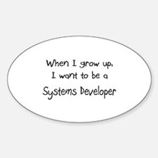 When I grow up I want to be a Systems Developer St