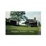 Brinegar Cabin Father's Day Gift Rectangle Magnet