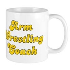Retro Arm Wrestli.. (Gold) Mug