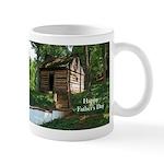 Log Cabin Father's Day Mug