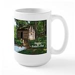Log Cabin Father's Day Large Mug