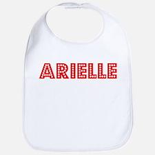 Retro Arielle (Red) Bib