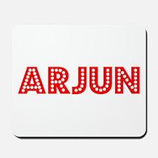 Retro Arjun (Red) Mousepad
