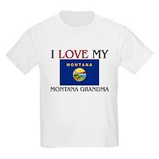 I Love My Montana Grandma T-Shirt