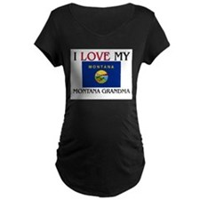 I Love My Montana Grandma T-Shirt