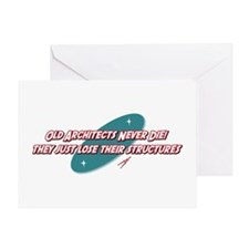 Old Architects Never Die Greeting Card