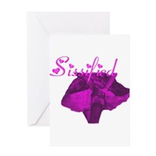 sissified Greeting Card