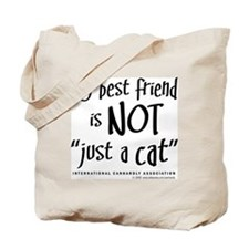 """Not """"just a cat"""" Tote Bag"""