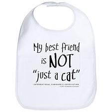 "Not ""just a cat"" Bib"