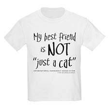 """Not """"just a cat"""" Kids T-Shirt"""