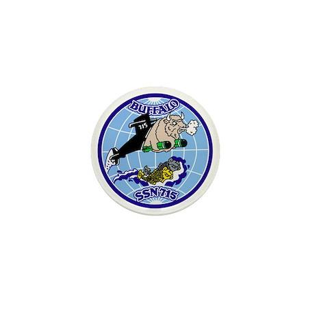 USS Buffalo SSN-715 Mini Button (100 pack)