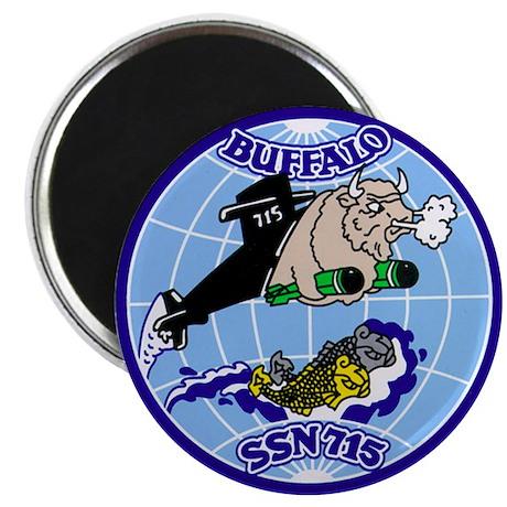 """USS Buffalo SSN-715 2.25"""" Magnet (10 pack)"""