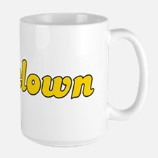 Retro Assclown (Gold) Large Mug