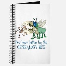 Bitten by Genealogy Bug Journal