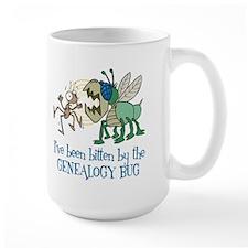 Bitten by Genealogy Bug Mug
