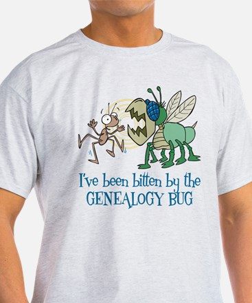 Bitten by Genealogy Bug T-Shirt