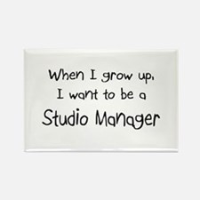 When I grow up I want to be a Studio Manager Recta