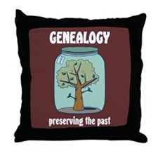 Preserving the Past Throw Pillow