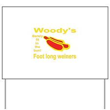Foot Long Weiner Yard Sign